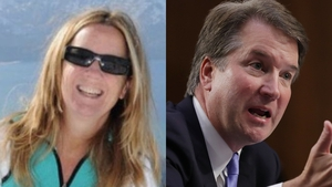 Christine Blasey Ford has accused US Supreme Court nominee Brett Kavanaugh of sexual assault (Pics: ResearchGate.Net/Getty)