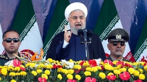 Hassan Rouhani said the US is provoking 'small puppet countries' and giving them 'the necessary capabilities'