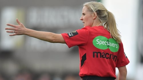 Joy Neville took charge of Dragons' win against Zebre