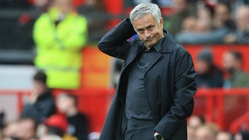 Jose Mourinho's side have taken 10 points from their opening six games