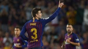 Gerard Pique saved Barcelona's blushes