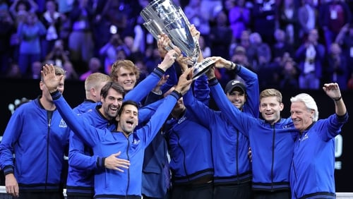 Federer, Zverev lead Team Europe to Laver Cup victory in Chicago