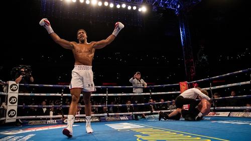Anthony Joshua may scrap April fight at Wembley