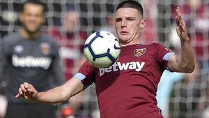 "Declan Rice: ""Without a doubt we could have had three points."""