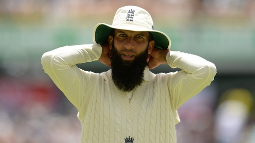 """England cricketer Moeen Ali wrote in his autobiography that an unnamed Australian player called him """"Osama"""" in the 2015 Ashes"""