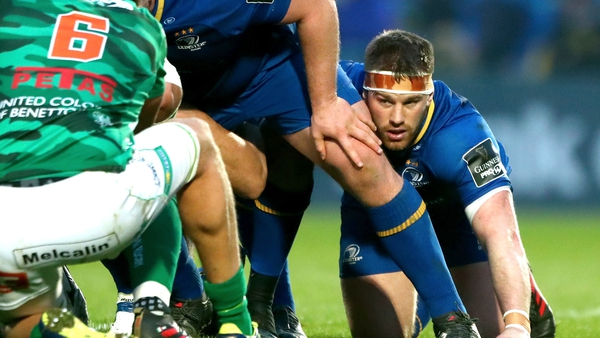 Sean O'Brien returns to full training with Leinster this week