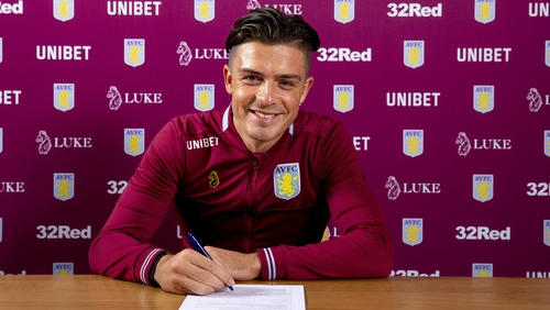 Jack Grealish puts pen to paper on a new deal