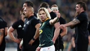 De Klerk says the Springboks always had a good spirit but lacked self-belief before the victory in Wellington