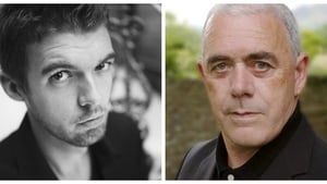 Nick Laird (left) and Theo Dorgan (right) feature in this week's episode of The Poetry Programme
