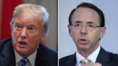 Rod Rosenstein is overseeing the investigation into Russia's role in the 2016 US presidential election