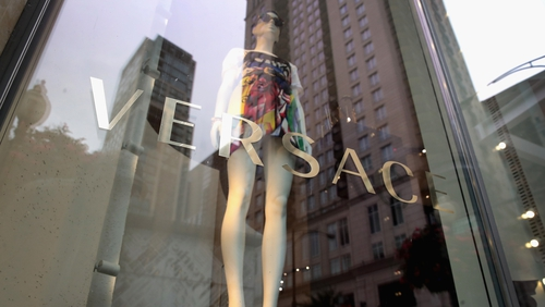 The controversial t-shirts were removed from Versace's official sales channels