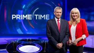 David McCullagh and Miriam O'Callaghan