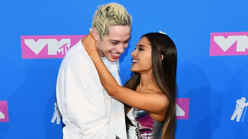 Pete Davidson just copied his fiancee Ariana Grande's tattoo