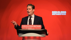Shadow Brexit secretary Keir Starmer warned that Tory 'division' over Brexit was putting the UK's future prosperity at risk