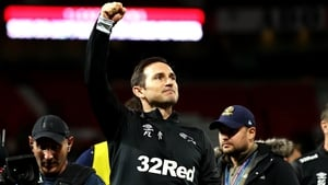 Frank Lampard will take Derby County to Stamford Bridge