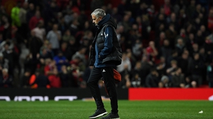 It was another tough night at the office for Jose Mourinho