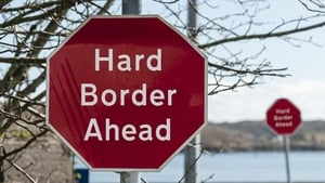 How hard is it to get through a hard border?