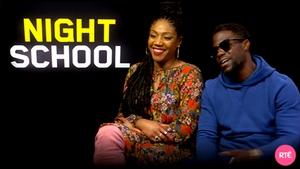 Tiffany Haddish and Kevin Hart - New comedy Night School in cinemas from Friday
