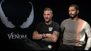 Tom Hardy and Riz Ahmed talk to RTÉ Entertainment