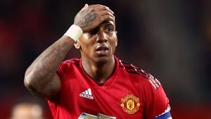 Ashley Young's side were dumped out the EFL Cup by Derby