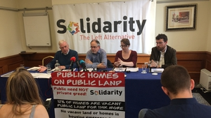 Speaking at a Solidarity press conference this morning, Father Peter McVerry expressed concern over the Government's housing strategy