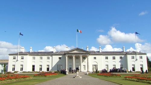 President Michael D Higgins signed the bill this afternoon