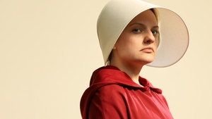 Elizabeth Moss stars in the TV adaptation of Margaret Atwood's novel The Handmaid's Tale