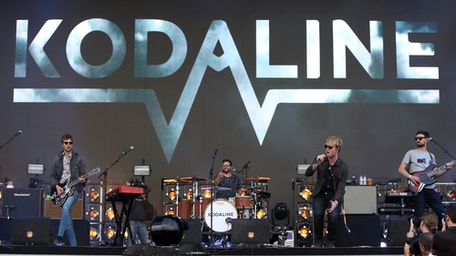 Kodaline thank fans as album goes to number one