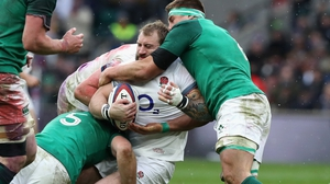 Joe Marler in action against Ireland last February