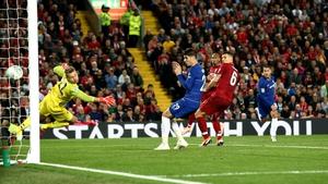 Eden Hazard's late goal saw Chelsea through