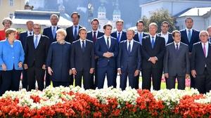 An informal EU summit took place in Salzburg last week
