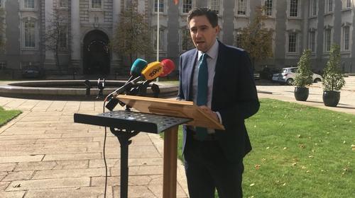 Simon Harris will introduce legislation to Dáil next week