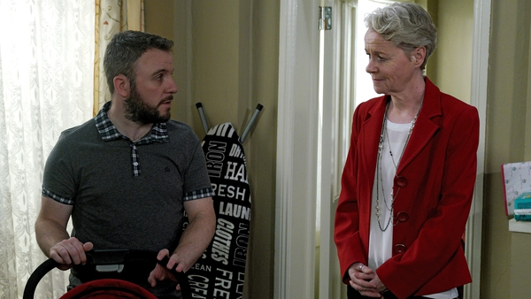 Decco begins to confront his grief on Fair City