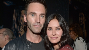 Johnny McDaid and Courteney Cox are not yet officially married