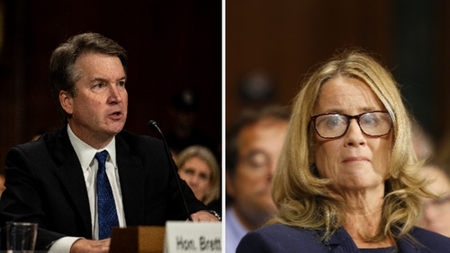 The Senate Judiciary Committee is hearing from both Christine Blasey Ford and Brett Kavanaugh