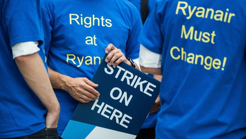 Ryanair faces biggest strike in Europe