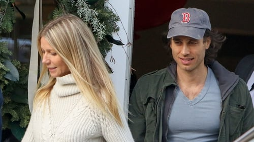 Gwyneth Paltrow with husband Brad Falchuk