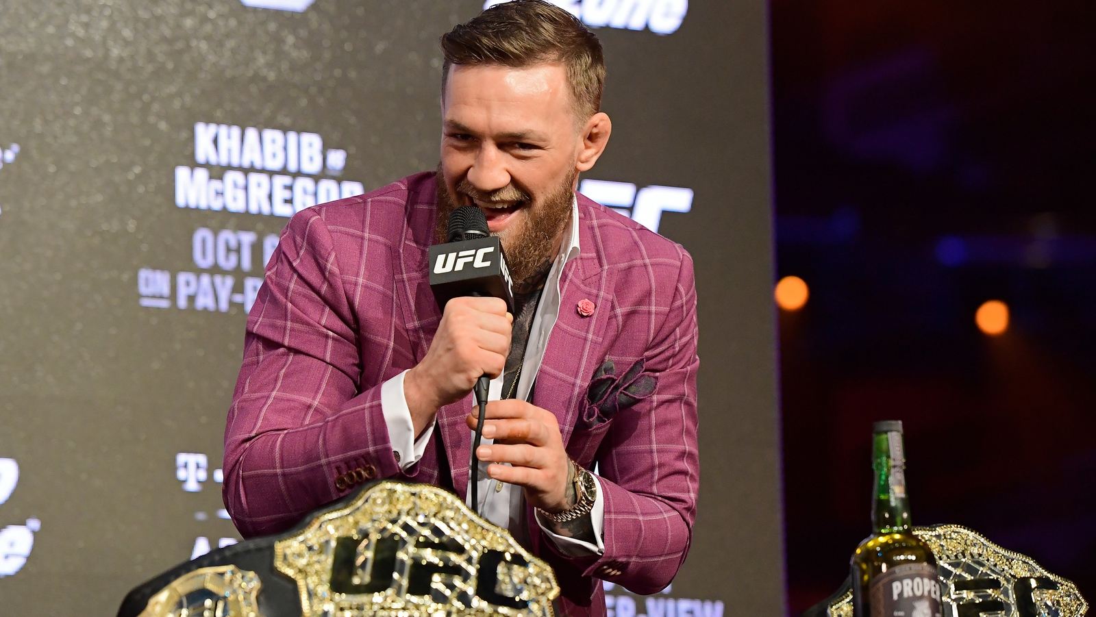 Image - McGregor's new six-fight deal involves sponsorship opportunities for his new whiskey brand
