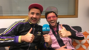 Sean-tastic and Famous Seamus (real names Cormac Mohally and Cian Kinsella)
