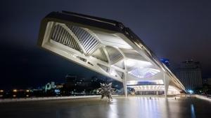 Museu do Amanhã in Rio de Janeiro which wasdesigned by Santiago Calatrava