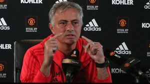 """Jose Mourinho: """"Disruptive? I think for you it was amazing because you made a story, you made an incredible story out of 15 minutes of an open training session."""""""