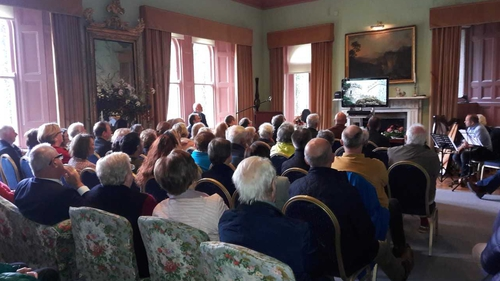 'The Glenveagh Suite'was performed in the 19th century Glenveagh Castle today