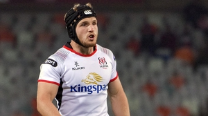 Angus Curtis is back in the squad for Ulster
