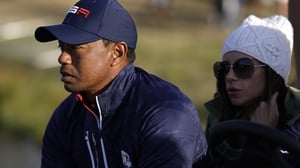 Tiger Woods was left frustrated after a tough Saturday