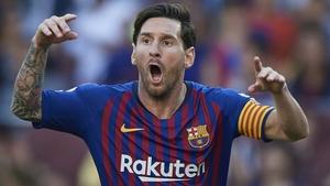 Leo Messi set up the leveller