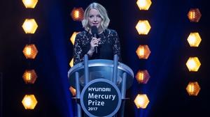 Lauren Laverne hosting last year's Mercury Prize awards ceremony