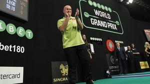 Michael van Gerwen is a three-time Grand Prix champion