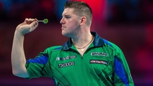 Daryl Gurney plays Ross Smith this evening