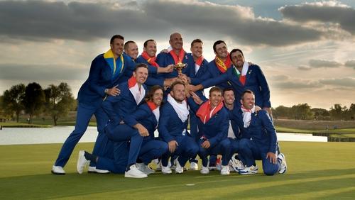 The European Ryder Cup Team