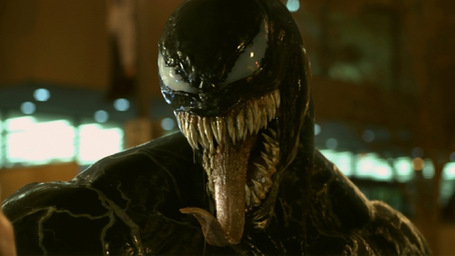 Venom manages to impress as it's just plain weird